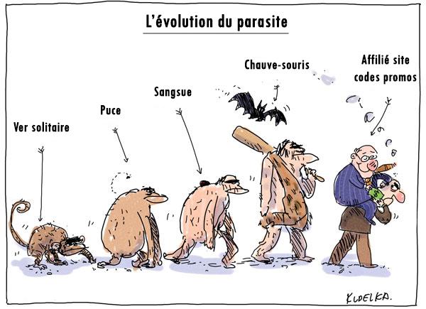 L'évolution du parasite